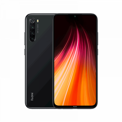 Смартфон Xiaomi Redmi Note 8 128GB/4GB Black (Черный) — фото