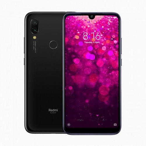 Смартфон Xiaomi Redmi Y3 32GB/3GB Black (Черный) — фото