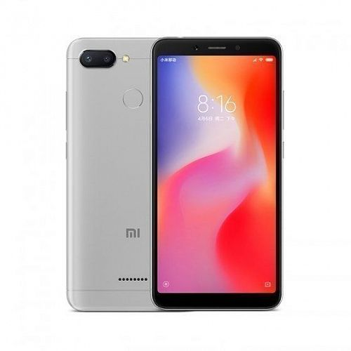 Смартфон Xiaomi Redmi 6 64GB/4GB Grey (Серый) — фото