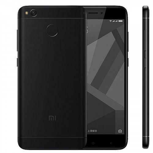 Смартфон Xiaomi Redmi 4X 32GB/3GB Black (Черный) — фото