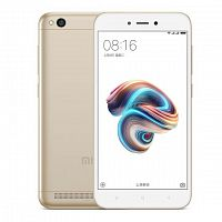 Смартфон Xiaomi Redmi 5A 16Gb/2GB Gold (Золотой) — фото